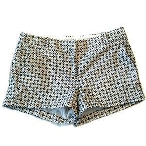 J. Crew factory eyelet shorts 6 embroidered mini